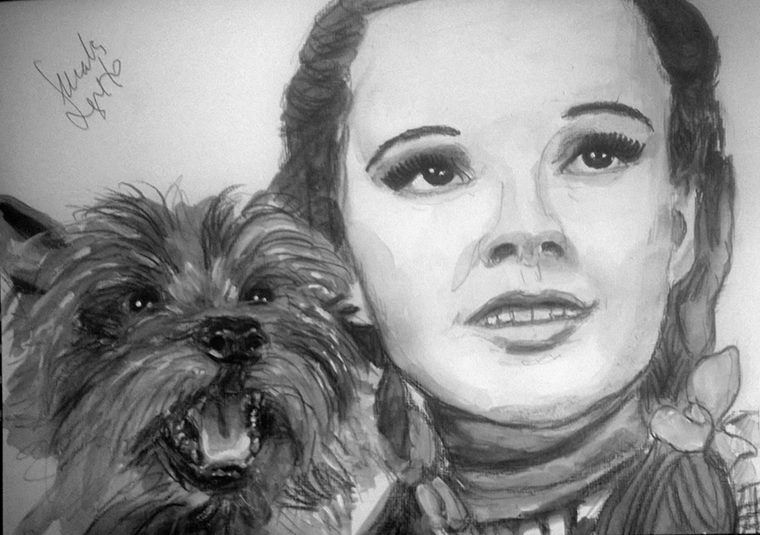 Judy Garland by Toyscape
